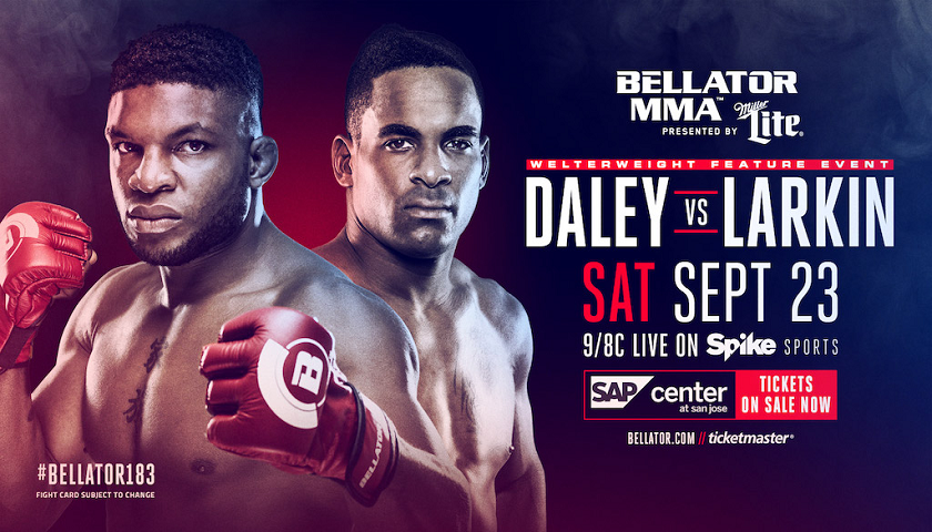 Bellator 183, Lorenz Larkin vs. Paul Daley