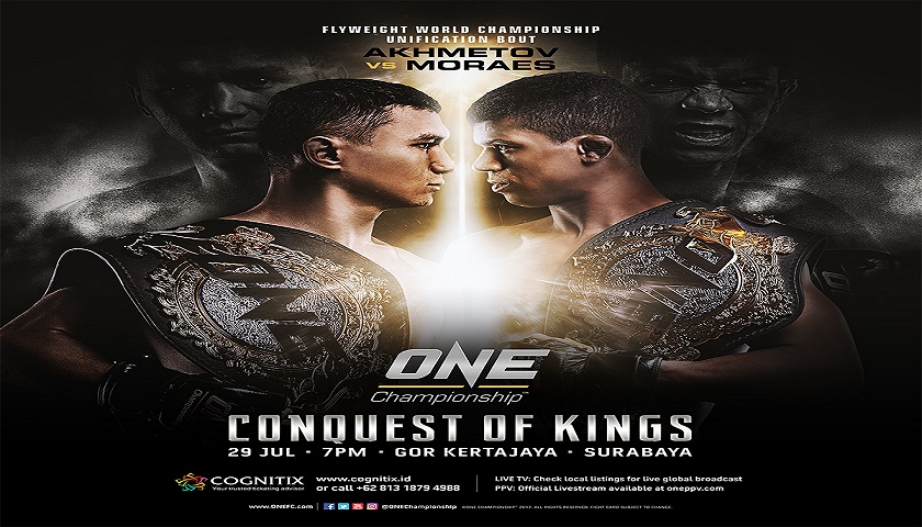 Additional bouts confirmed for ONE: Conquest of Kings in Surabaya