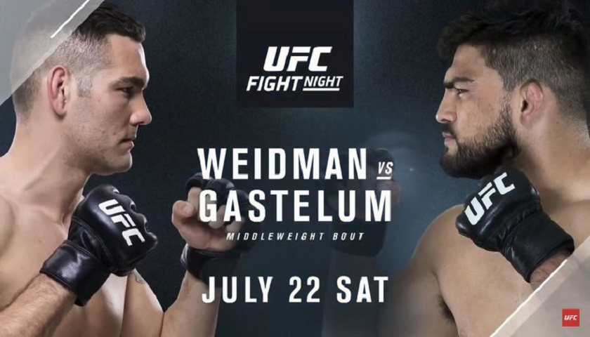 UFC on FOX 25 Results: Weidman vs. Gastelum