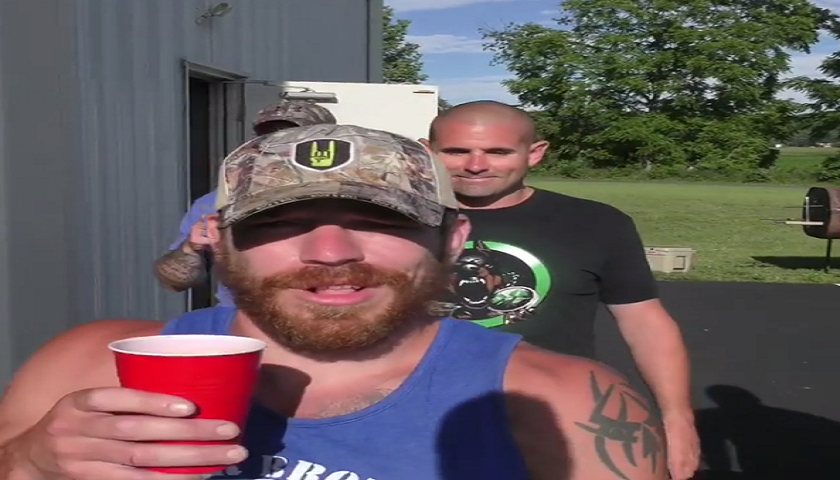 Jim Miller unleashes his inner Toby Keith with Red Solo Cup rendition