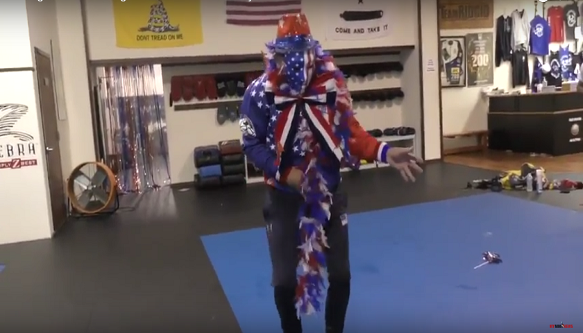 WATCH: Jim Miller unleashes his inner Apollo Creed ahead of UFC 213