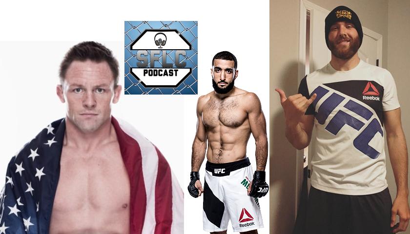 SFLC Podcast - Joe Warren, Belal Muhammad & James Bochnovic