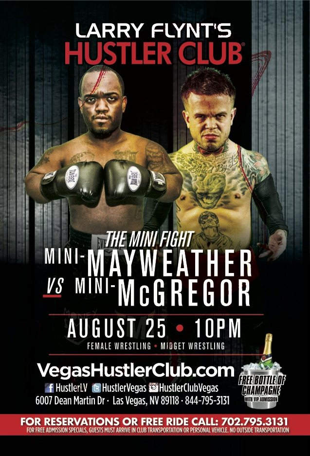 Before BIG fight, Mini Mayweather to take on Mini McGregor in Las Vegas