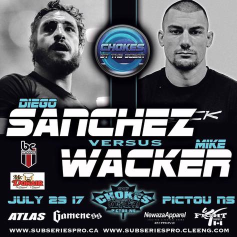 """Sub Series Pro """"Choke by the Ocean"""": Mike Wacker Takes On Diego Sanchez"""