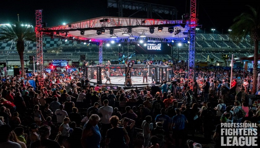 Professional Fighters League: Daytona ratings considered a success