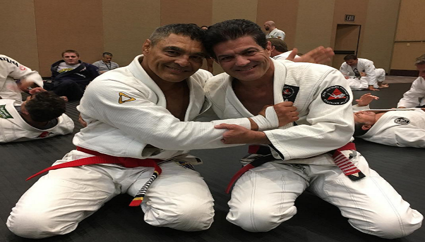 Rickson Gracie promoted to red belt 40 years after earning black belt