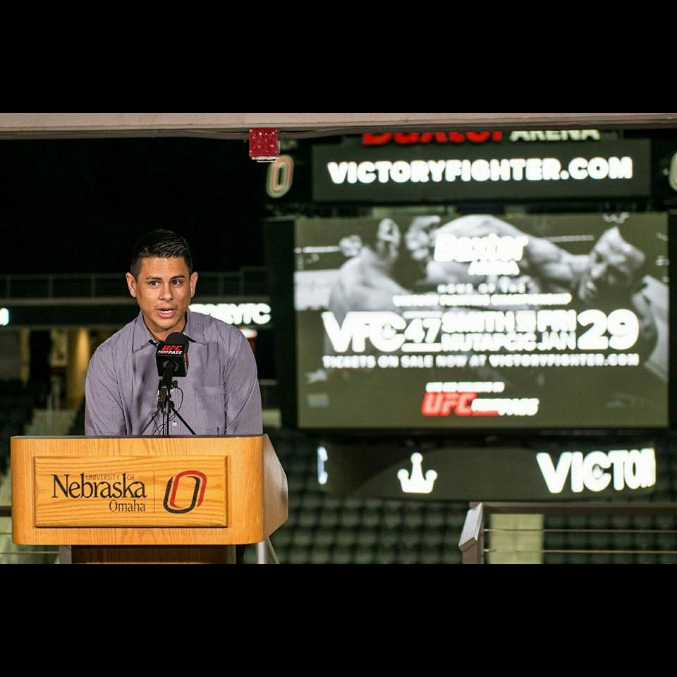 Ryan Stoddard, President and Owner of Victory Fighting Championship