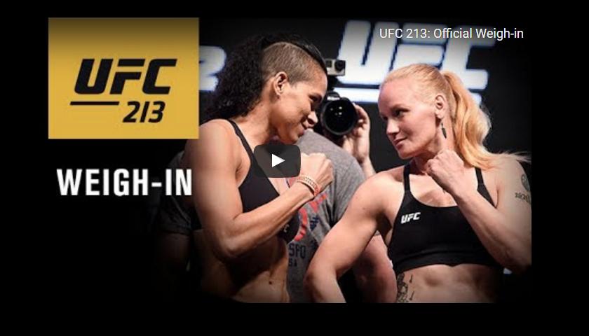 UFC 213 weigh-in results – Nunes vs. Shevchenko