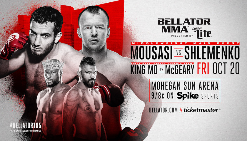 Gegard Mousasi to Debut at Bellator 185 Against Alexander Shlemenko on October 20