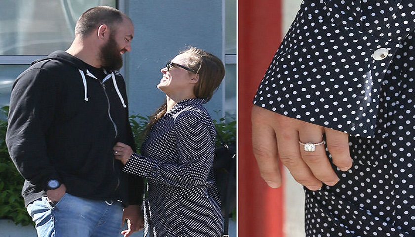 Ronda Rousey marries Travis Browne in Hawaii during May-Mac fight