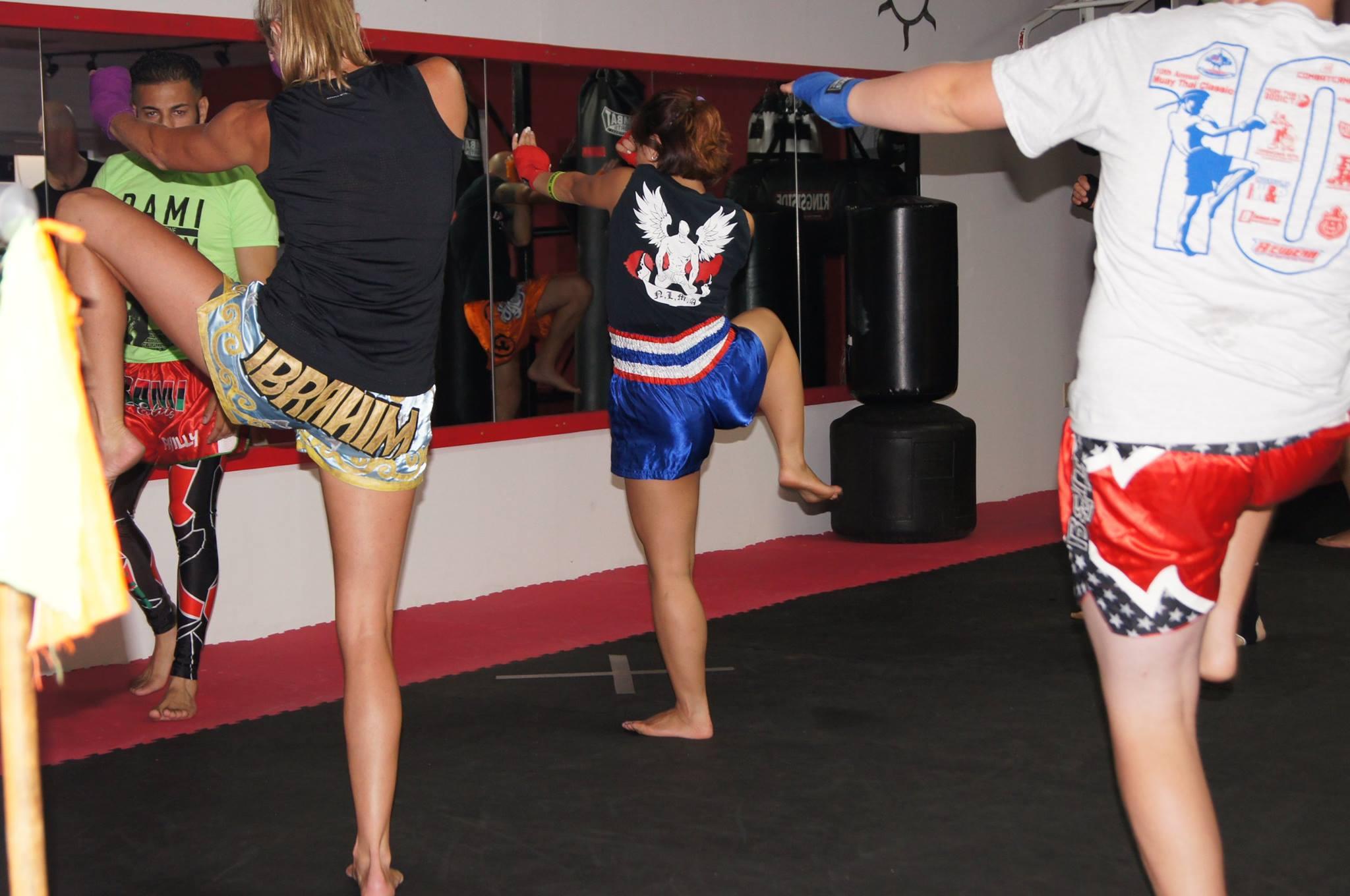 Lauren Mull training at Rami Elite