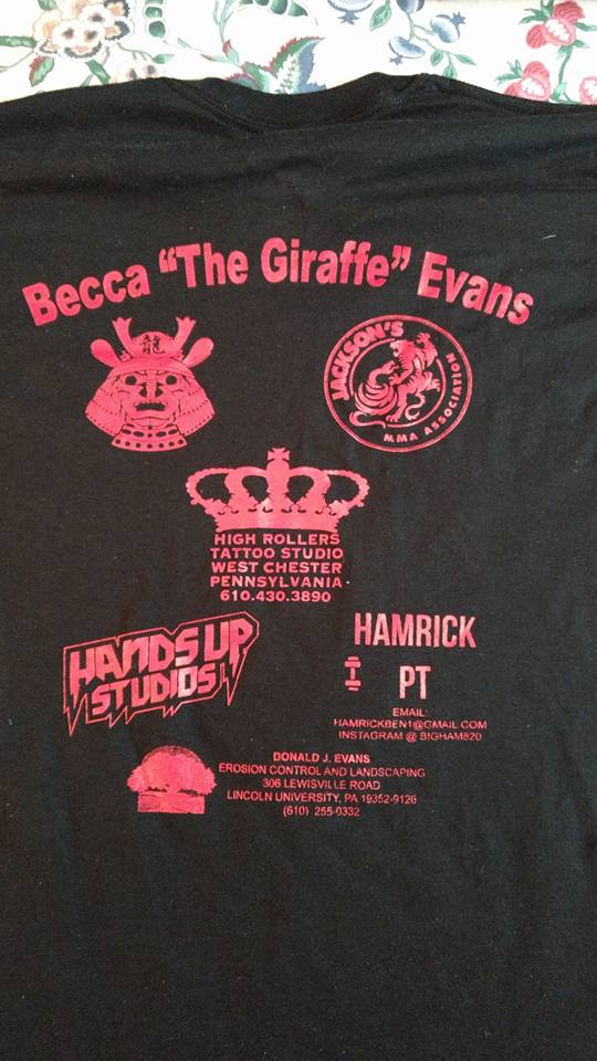 Giraffe, Rebecca Evans