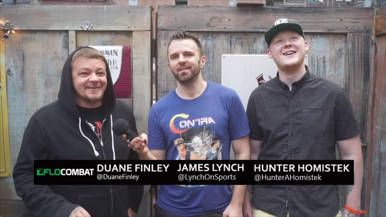Flo Combat, Duane Finley, James Lynch, Hunter Homistek