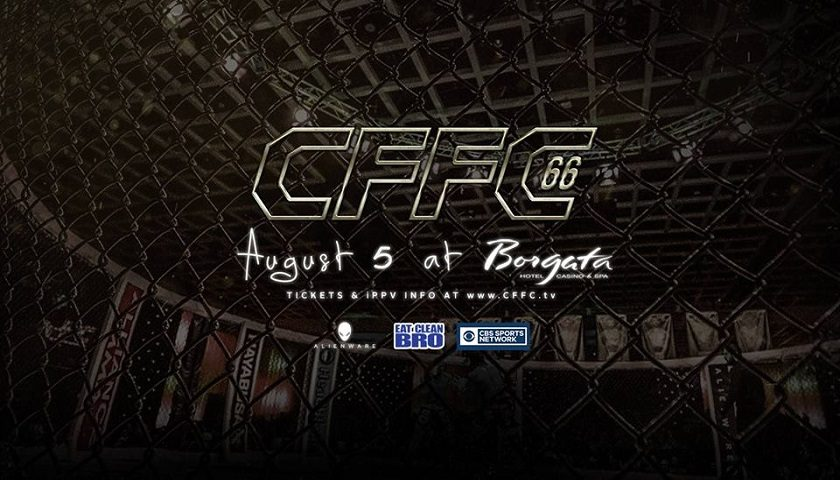 Cage Fury Fighting Championships – CFFC 66 Results – Webb vs. Wilson