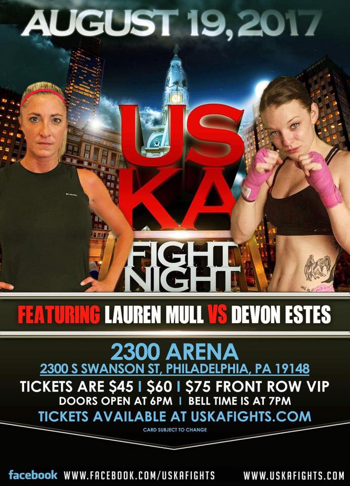 USKA Fight Night, Lauren Mull vs. Devon Estes
