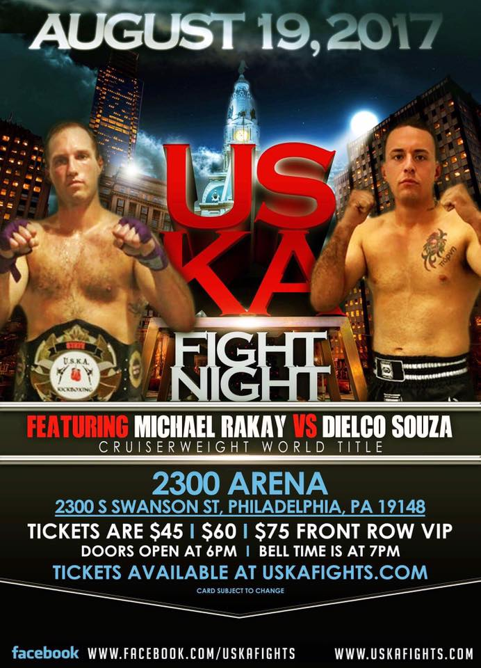 Michael Rakay, Dielco Souza, USKA Fight Night