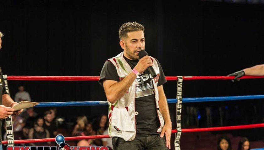 USKA to host Rami Ibrahim's 186th professional Muay Thai Fight