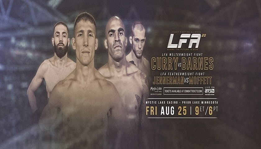 LFA 20 Results - Nick Barnes vs. Chad Curry