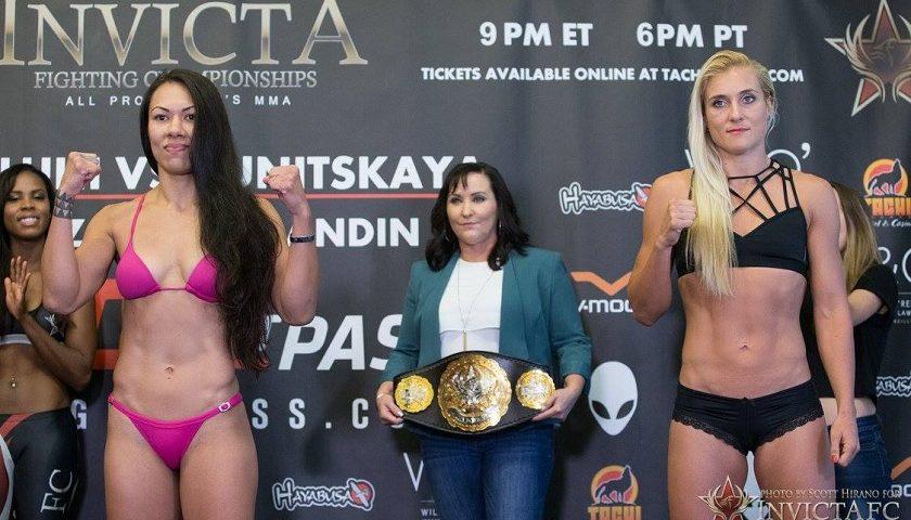 Invicta FC 25 results – Raquel Pa'aluhi vs. Yana Kunitskaya