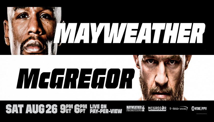 Streaming Mayweather vs McGregor in the US