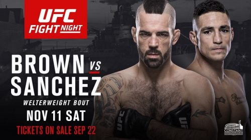 Diego Sanchez meets Matt Brown at welterweight in Norfolk, Virginia
