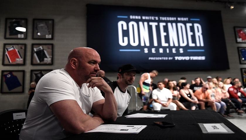 Contender Series, Dana White's Tuesday Night Contender Series, Tuesday Night Contender Series Results - Week 5