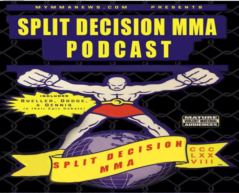 Naked Rose, Split Decision MMA Podcast - Paige's foot, naked Rose, TUF 26, more