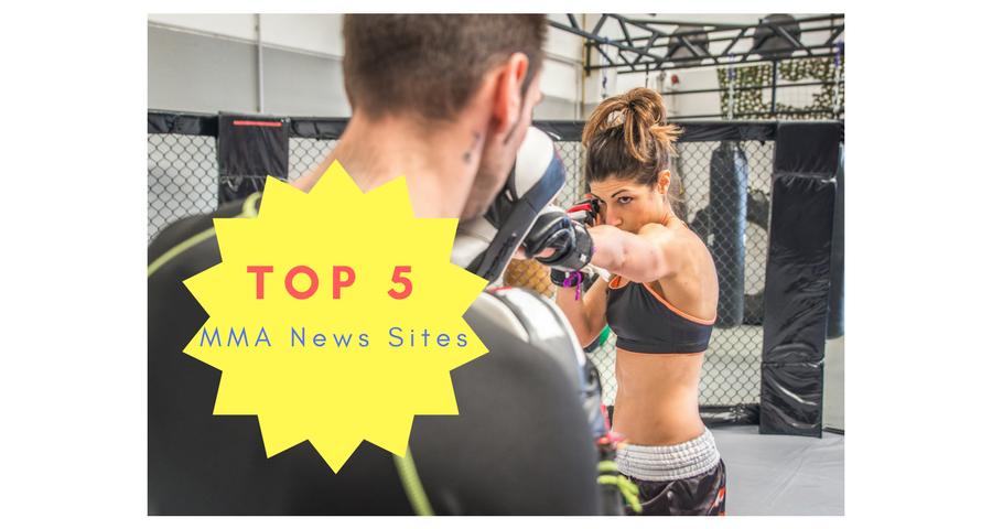 Top 5 MMA News Sites - mixed martial arts news