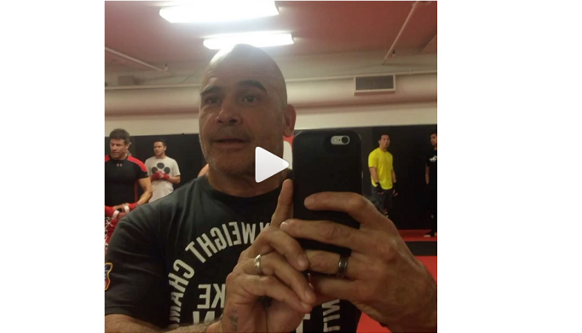 Bas Rutten develops the Martial Arts Handshake - WATCH