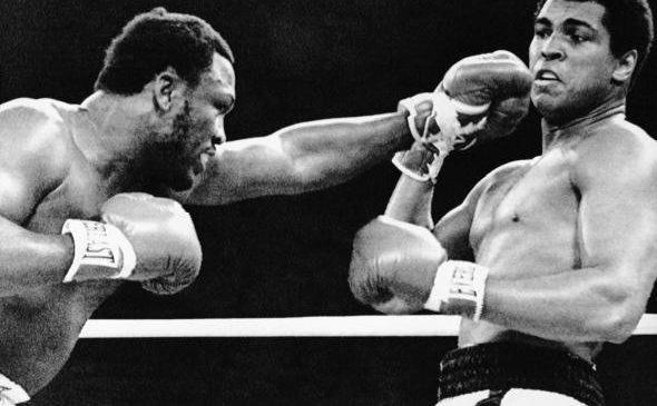 Muhammad Ali and Joe Frazier - 1974