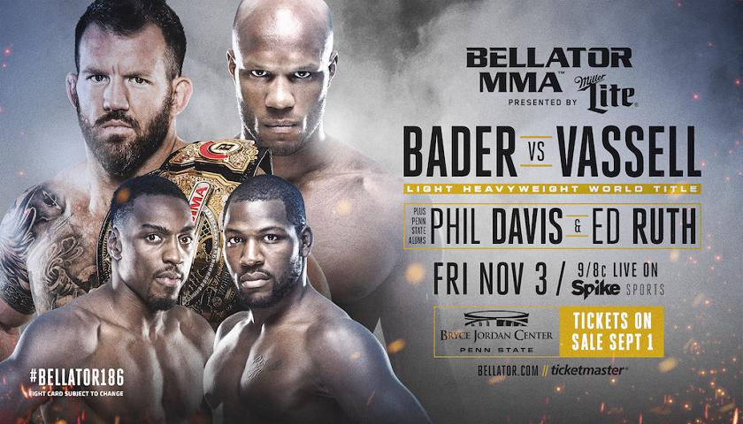 Penn State University hosts Bellator 186 - Bader vs. Vassell Title Bout