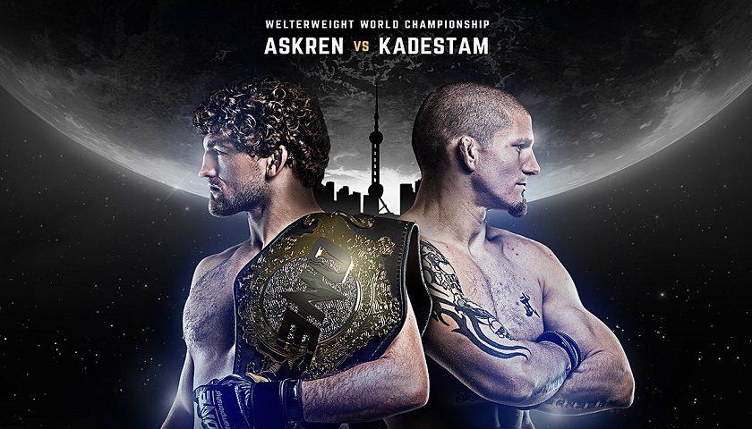 Ben Askren defends title against Zebaztian Kadestam in Shanghai