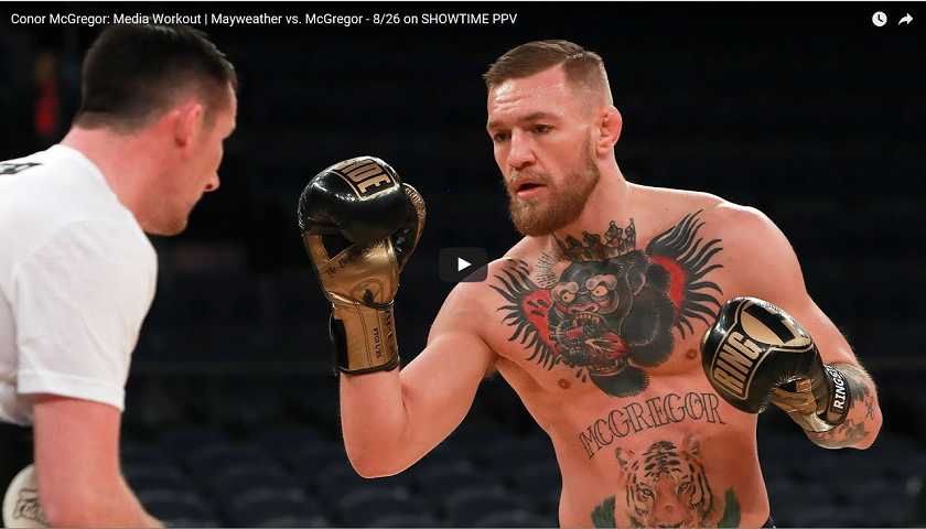 WATCH:  Conor McGregor Media Day live at 5:30 p.m. EST