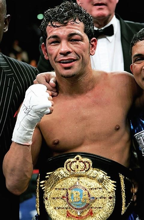 The late Arturo Gatti pictured here when he was IBA World Champion