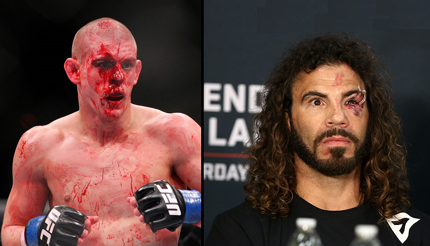 Joe Lauzon and Clay Guida paired up for UFC Fight Night Norfolk