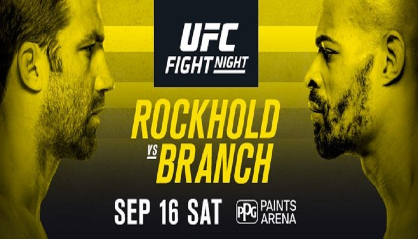 Former champion Luke Rockhold returns against David Branch in Pittsburgh