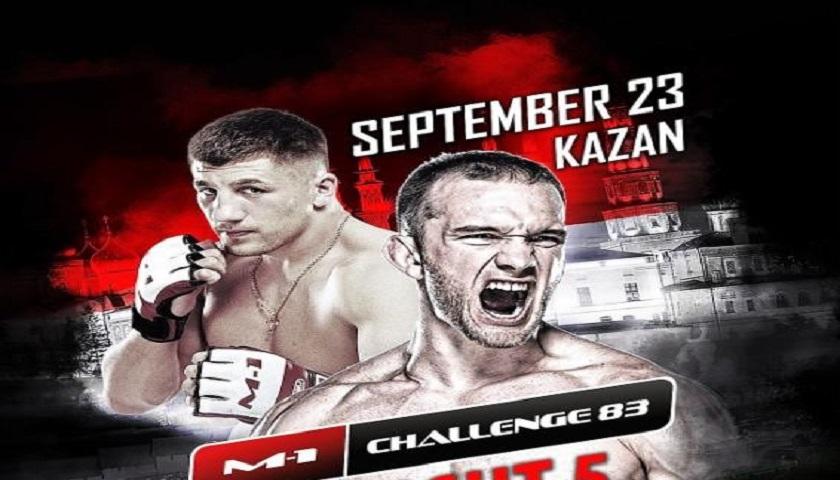 Ragozin vs. Halsey to headline M-1 Challenge 83 - Tatfight 5