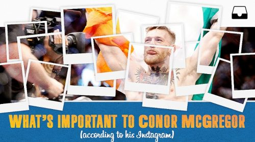 Conor McGregor's Instagram tells tale, path to stardom