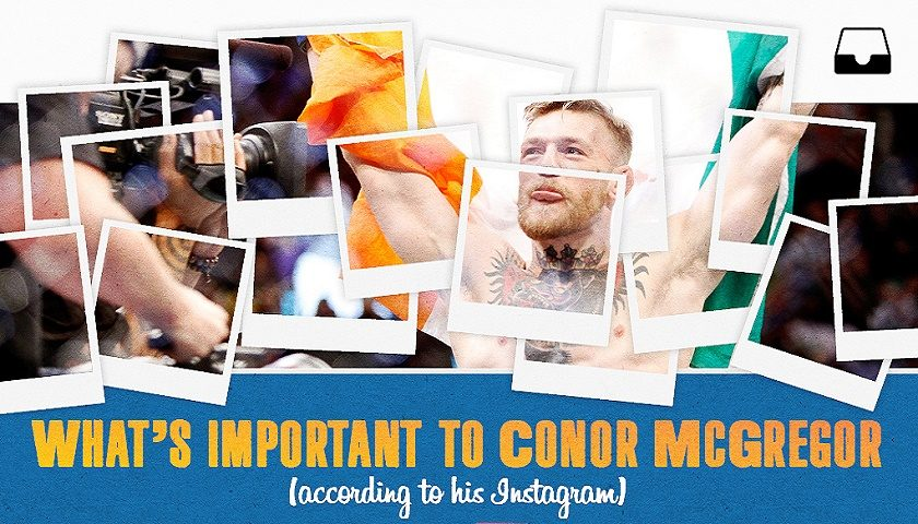 Conor McGregor's Instagram tells tale, path to stardom