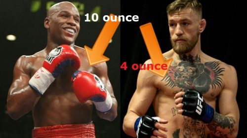 Nevada Athletic Commission approves 8 oz. gloves for Mayweather-McGregor, judges, referee announced