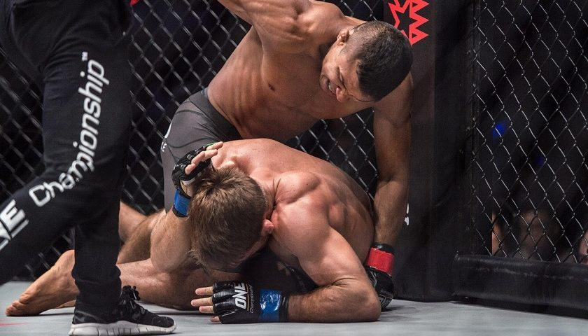 Bibiano Fernandes submits Andrew Leone, remains ONE bantamweight champ