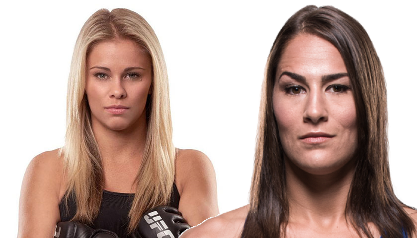 Paige VanZant moving up, Jessica Eye moving down, plan to meet at flyweight