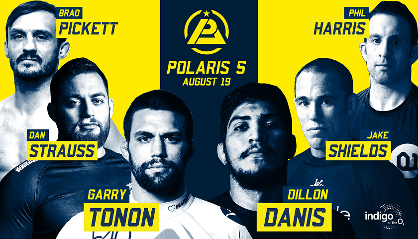 Polaris 5 Results - Professional Jiu- Jitsu Invitational