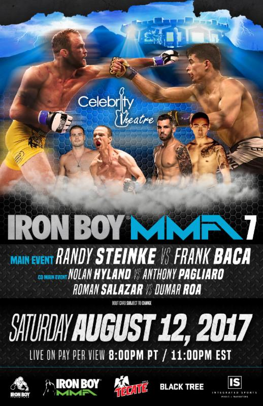 Iron Boy MMA 7 available for purchase on MyMMANews.com