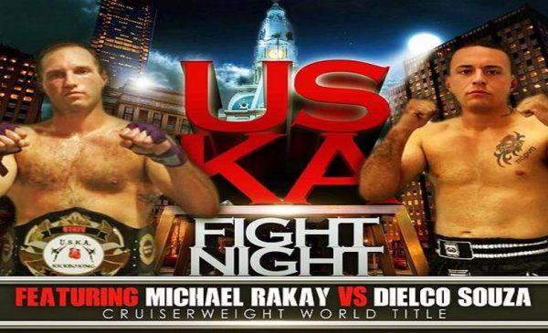 Michael Rakay, Dielco Souza, USKA Fight Night