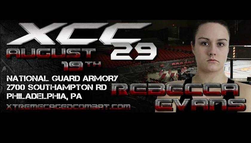 Rebecca Evans, XCC MMA, XCC 29