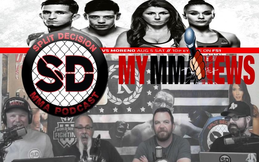 Split Decision MMA - 8 ounce gloves, Mini Mac and Cheese, Malignaggi, more