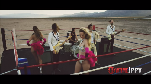 Legendary music group The Killers music video for Mayweather-McGregor
