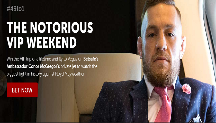 Win trip to Mayweather vs McGregor, fly on Conor's private jet