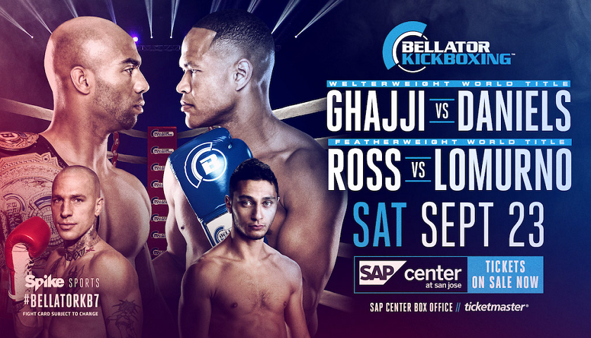 Second Title Fight Added to Bellator Kickboxing 7 on Sept. 23 in San Jose